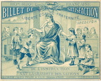 Billets de satisfaction