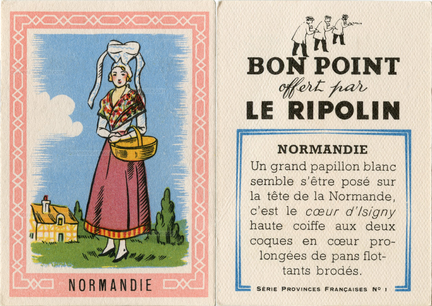 Bon point Le Ripolin - Provinces Françaises - Normandie