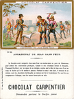 Image Chocolat Carpentier - N°55 - Assassinat de Jean Sans Peur (1419)