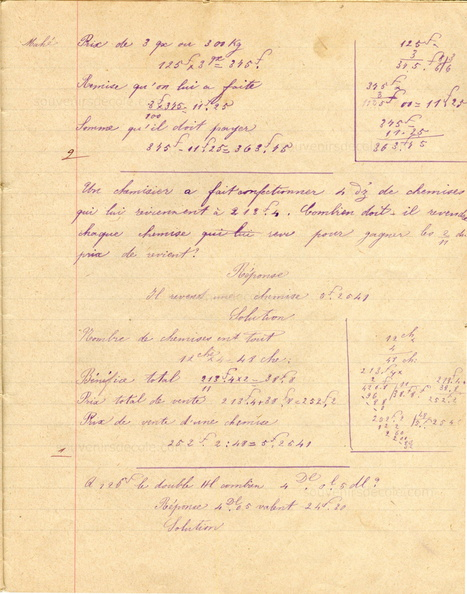 cahier Collection Gompel Frères N°9 Festons Lettres - Mahé Marie-Louise - 1901 - p25.jpg