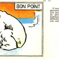 Bon point - Ours blanc