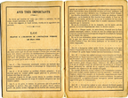 Carnet de notes 1908/1909 - Paris 16e - Pages 2 et 3