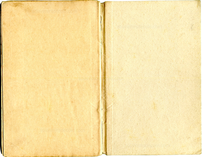Carnet de notes 1908/1909 - Paris 16e - Page 16 et Couverture 3