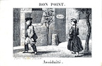 Assiduité - Bon point Maison Basset, Paris - Fin XIXème