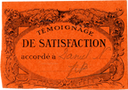 Témoignage de Satisfaction orange - Nelly Daniel - 1936