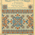 Cahier Gompel N°16 Broderie Russe - Mahé ML 1901 - Couverture 1
