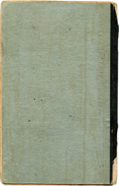 Carnet de notes 1908/1909 - Paris 16e - Couverture 4