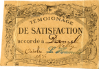 Témoignage de Satisfaction beige - Nelly Daniel - octobre1936